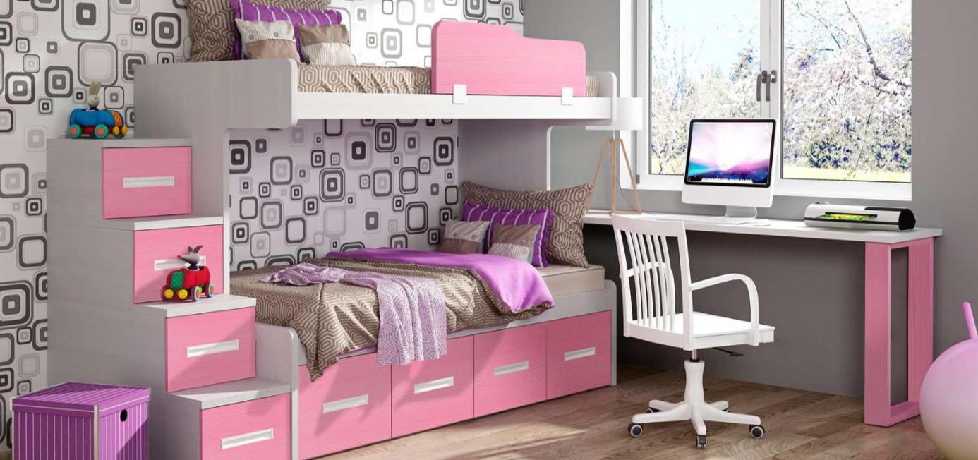 Literas Dormitorios infantiles temáticos Muebles Gazapo