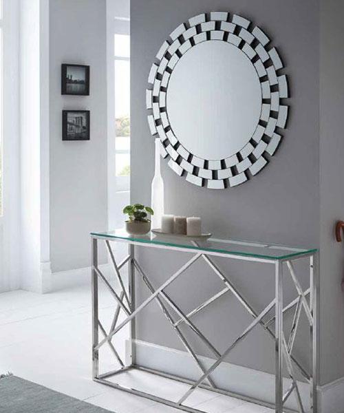 8. Muebles para la entrada. Espejos para la entrada